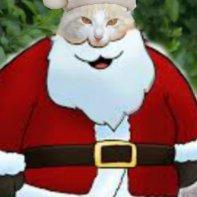 Santa Claws: Meow, meow, meow!