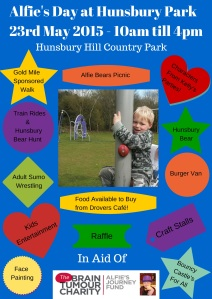 Alfie's Day at Hunsbury Park 23rd May (1)